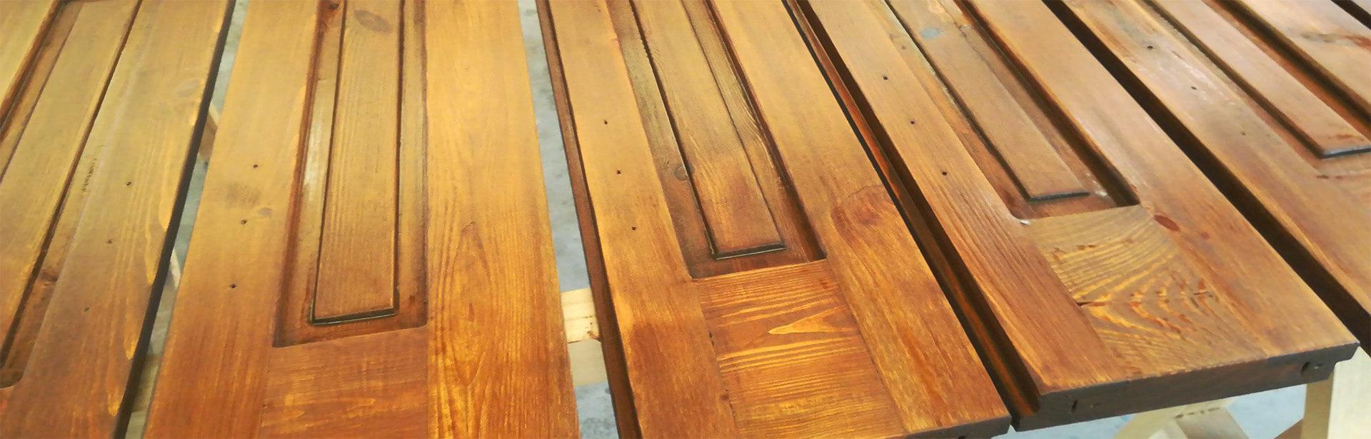 restauro infissi di legno verona